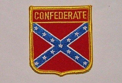 Wappenaufnäher Südstaaten Confederate