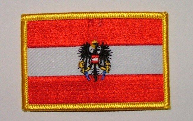 Aufnäher Österreich mit Adler