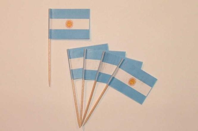 Flaggen Zahnstocher Argentinien VE=50