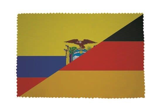 Glasreinigungstuch Ecuador - Deutschland