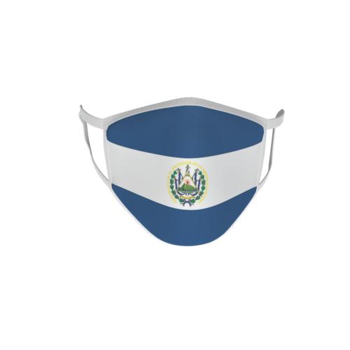 Gesichtsmaske Behelfsmaske Mundschutz El Salvador