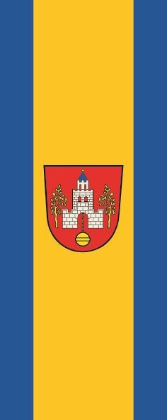 Flagge Emstek im Hochformat