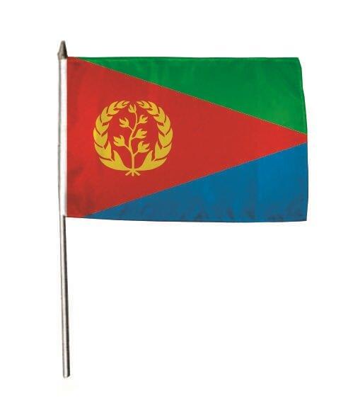 Stockflagge Eritrea 30 x 45 cm