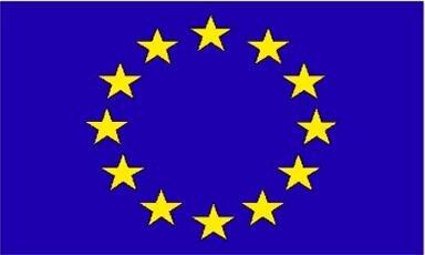 Fahne Europa 90 x 150 cm