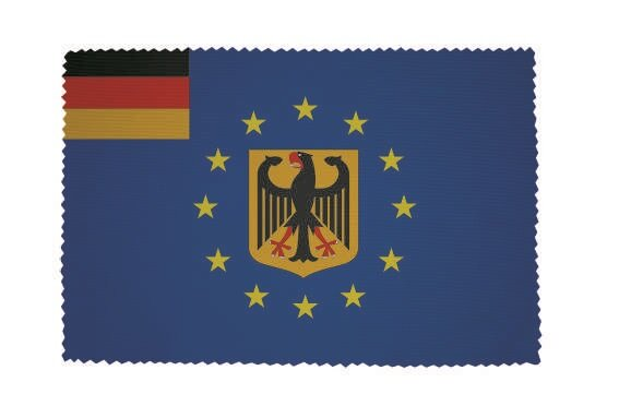 Glasreinigungstuch Europa mit Deutschland Adler