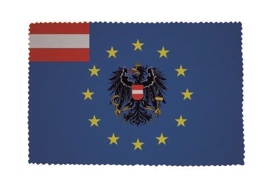 Glasreinigungstuch Europa mit Österreich Adler
