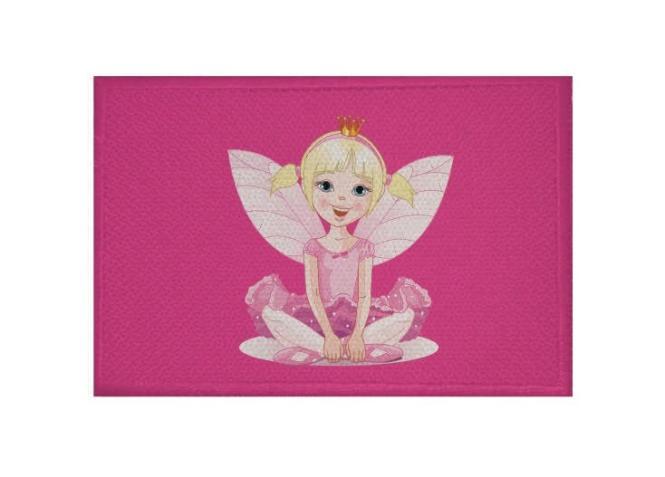 Aufnäher Patch Fee Motiv Nr. 7 Fairy 9 x 6 cm