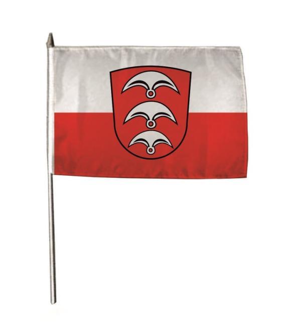 Stockflagge Fellbach 30 x 45 cm