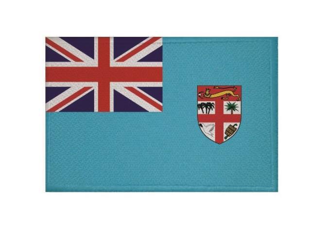 Aufnäher Patch Fidschi Fiji Inseln 9 x 6 cm