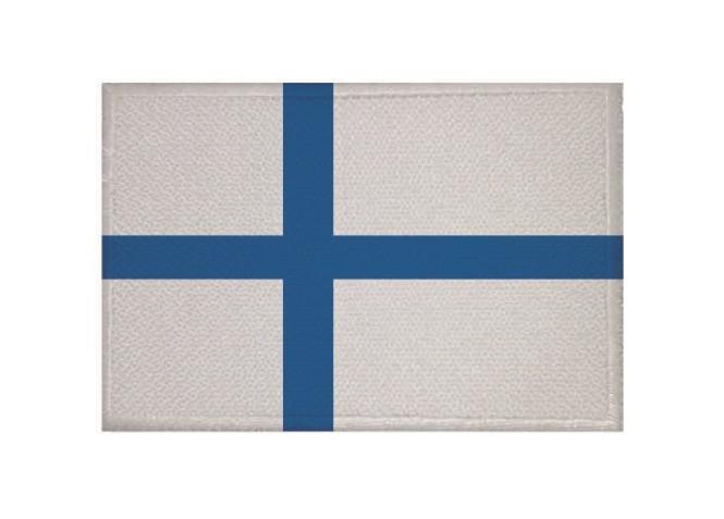 Aufnäher Patch Finnland 9 x 6 cm