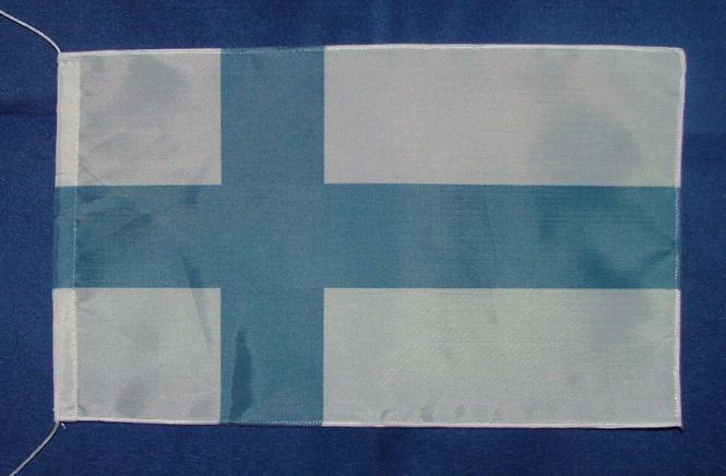 Tischflagge Finnland