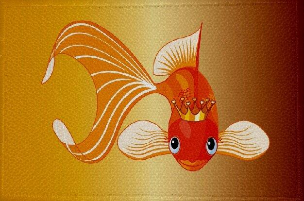 Aufnäher Fisch Motiv Nr. 17 Patch 9 x 6 cm