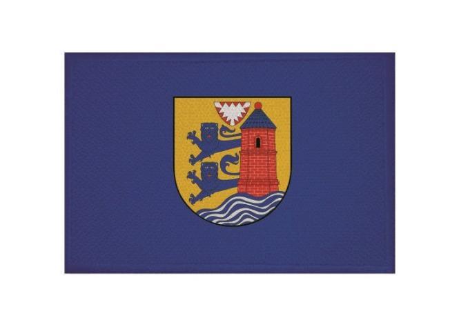 Aufnäher Patch Flensburg 9 x 6 cm