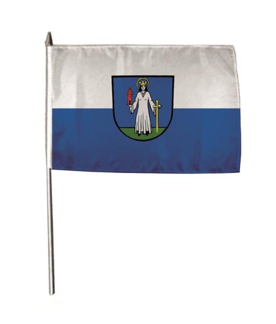 Stockflagge Forst (Baden) 30 x 45 cm