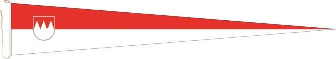 Langwimpel Franken 250 x 40 cm