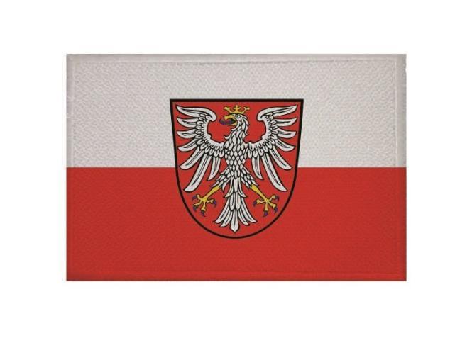Aufnäher Patch Frankfurt am Main 9 x 6 cm