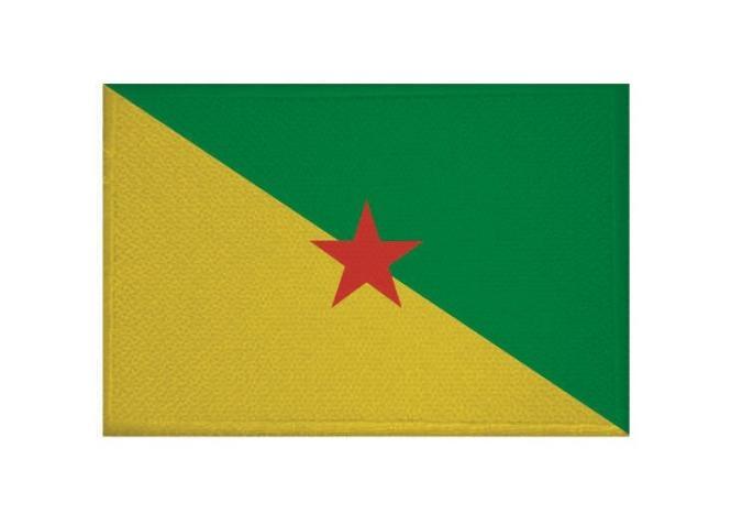 Aufnäher Patch Französisch Guyana 9 x 6 cm