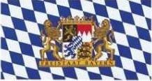 Fahne Freistaat Bayern 90 x 150 cm