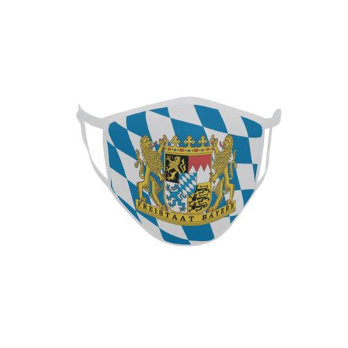 Gesichtsmaske Behelfsmaske Mundschutz Freistaat Bayern