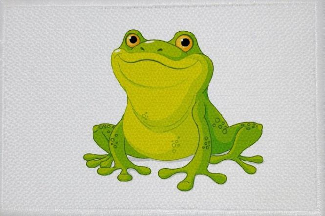 Aufnäher Frosch Motiv Nr. 12 Patch 9 x 6 cm