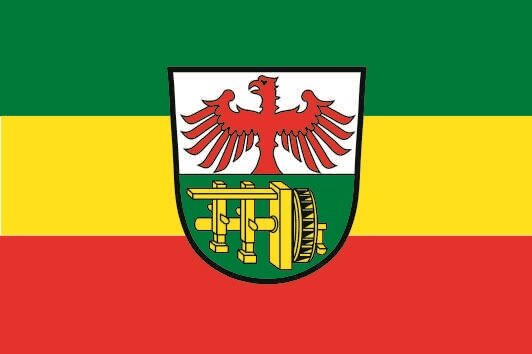 Flagge Geroldsgrün