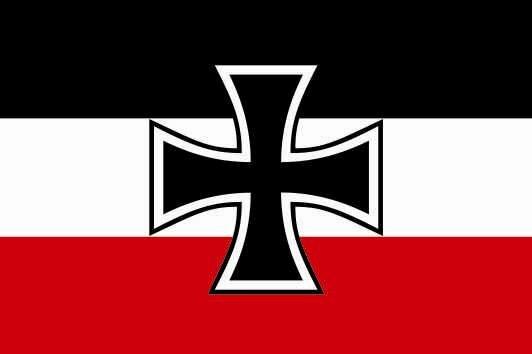 Aufkleber Gösch Kriegsmarine