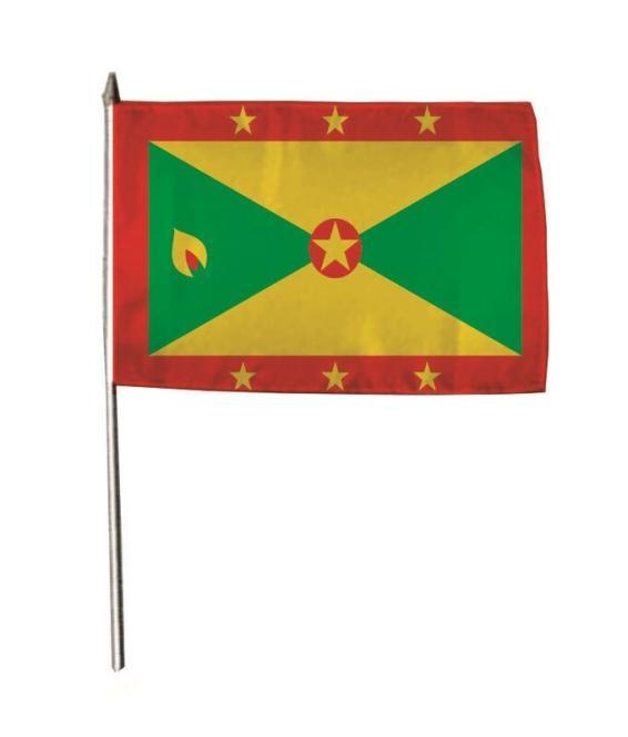 Stockflagge Grenada 30 x 45 cm