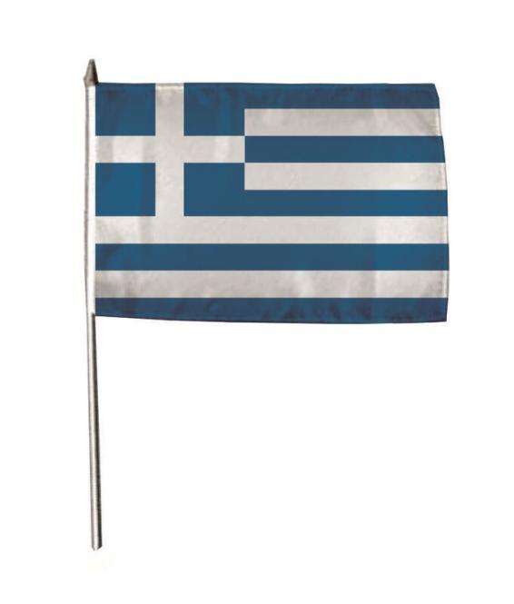 Stockflagge Griechenland 30 x 45 cm
