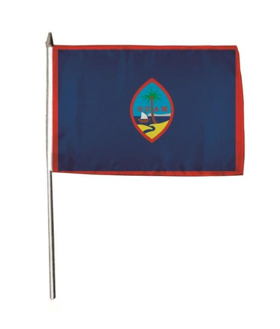 Stockflagge Guam 30 x 45 cm