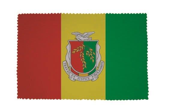 Glasreinigungstuch Guinea mit Wappen