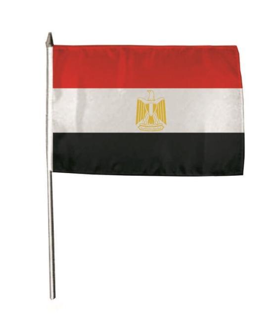 Stockflagge Ägypten 30 x 45 cm
