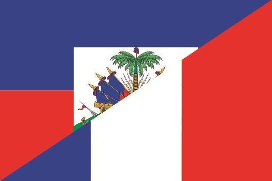 Flagge Haiti - Frankreich