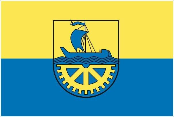 Flagge Heidenau ( Sachsen )