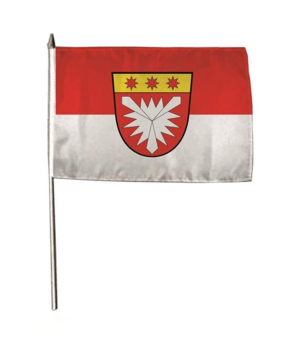 Stockflagge Hessisch Oldendorf 30 x 45 cm