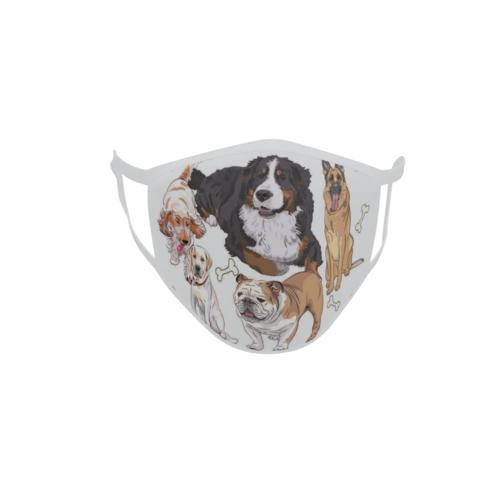 Gesichtsmaske Behelfsmaske Mundschutz Hunde