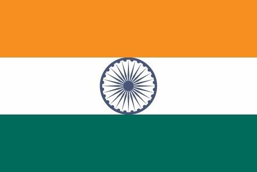 Aufkleber Indien