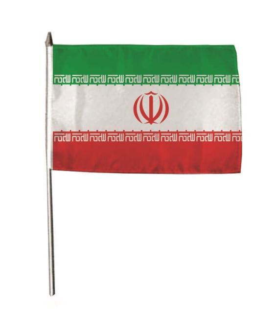 Stockflagge Iran 30 x 45 cm