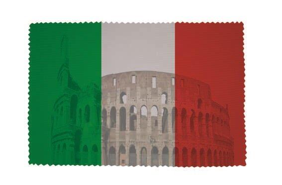 Glasreinigungstuch Italien Kolosseum