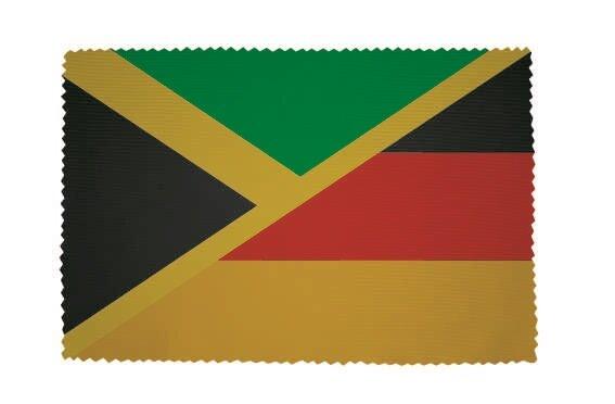 Glasreinigungstuch Jamaika - Deutschland