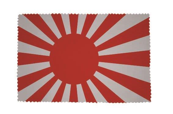 Glasreinigungstuch Japan Kriegsfahne