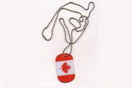 Dog Tag Erkennungsmarke Kanada 3 x 5 cm