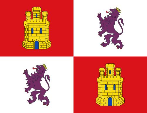 Aufkleber Kastilien & Leon