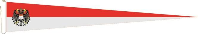 Langwimpel Köln mit großem Wappen