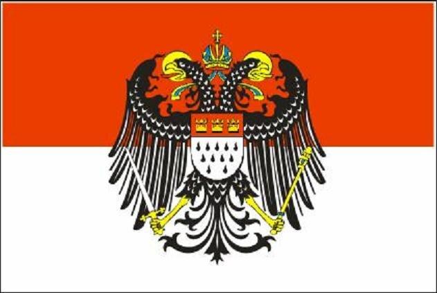 Aufkleber Köln mit großem Wappen