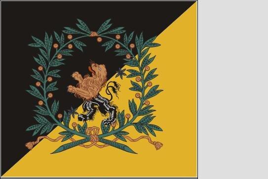 Fahne Standarte Schweden Kompanifana Skaraborgs Regemente 180 x 200 cm