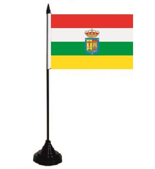 Tischflagge La Rioja 10 x 15 cm