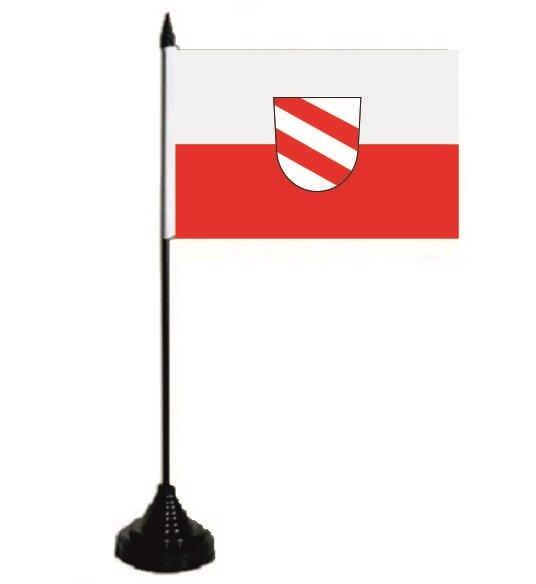 Tischflagge Landau an der Isar 10 x 15 cm