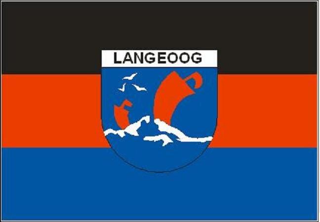 Aufkleber Langeoog