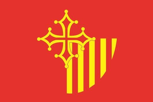 Aufkleber Languedoc Roussillon