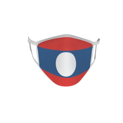 Gesichtsmaske Behelfsmaske Mundschutz  Laos
